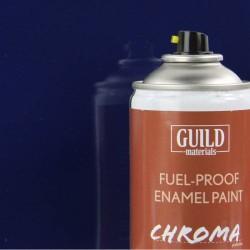 Guild Materials Gloss Enamel Fuel-Proof Paint Chroma Dark Blue (400ml Aerosol) (GLDCHR6404)