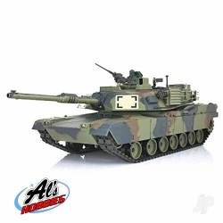 Henglong 1:16 US M1A2 Abrams with Infrared Battle System (2.4GHz + Shooter + Smoke + Sound) (HLG3918-1B)