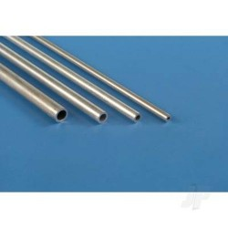 [1109] 1/8in 36in Round Aluminium Tube .014in Wall (KNS1109)