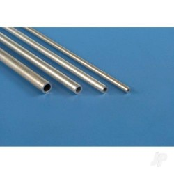 K&S [1113] 1/4in 36in Round Aluminium Tube .014in Wall (KNS1113)