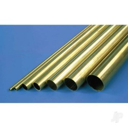 K&S [1143] 1/16in 36in Round Brass Tube .014in Wall (KNS1143)