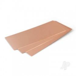 K&S [277] .016in (26ga) 10x4in Copper Sheet (1 pc) (KNS277)