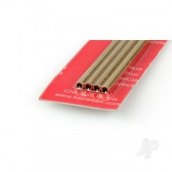 [3936] 4mm 1m Round Brass Tube .225in Wall (1 pc) (KNS3936)