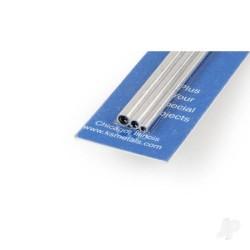 K&S [5073] 12in Soft Bendable Aluminium Tube 3/32 1/8 5/32 (1 pc) (KNS5073)