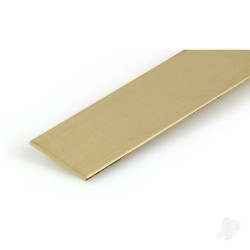 K&S [8248] .064x1in 12in Brass Strip (KNS8248)