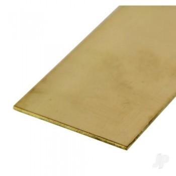 K&S [8249] .064x2in 12in Brass Strip (KNS8249)