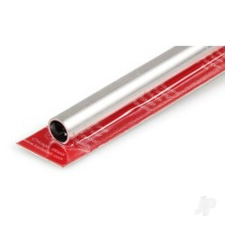 K&S 1/2in 12in Round Aluminium Tube .035in Wall (KNS83035)