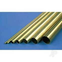 K&S 5/8in 36in Brass Tube .014in Wall (KNS9123)