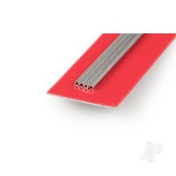 [9801] 2mm 300mm Aluminium Round Tube .45mm Wall (1 pc) (KNS9801)