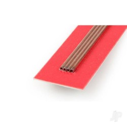 K&S [9870] 2mm 300mm Round Copper Tube .36mm Wall (1 pc) (KNS9870)