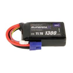 LiPo 3S 1300mAh 11.1V 20C EC3 (RDNB13003S20)