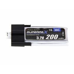 LiPo 1S 200mAh 3.7V 30C Ultra-Micro (RDNB2001S30)