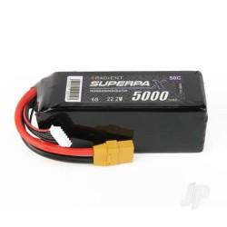 Radient LiPo 6S 5000mAh 22.2V 50C XT90 (RDNB50006S50XT90)