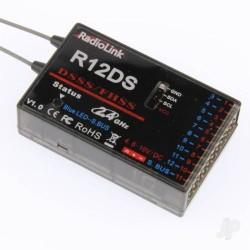 RadioLink R12DS 2.4GHz 12-Channel Receiver (RLKR121001)