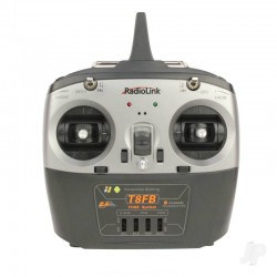RADIOLINK T8FB COMBO 2.4GHz 8-Ch Transmitter & 1x R8EF Receivers (Mode 1) (RLKT081001)