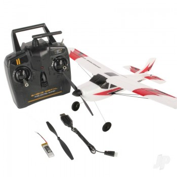 Sonik RC Aviator 400 RTF Powered Trainer Plane With Flight Stabilization (SNK761-1)