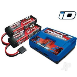 Traxxas Battery / charger completer pack (includes #2972 Dual iD charger (1pc) #2872X 5000mAh 11.1V 3-cell 25C LiPo battery (
