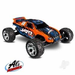 Traxxas Orange/Blue Nitro Jato 3.3 1/10 2-Speed 2WD Stadium Truck (TRX55077-3-ORNG)