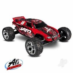Traxxas Red/Black Jato 3.3 1/10 2-Speed Nitro 2WD Stadium Truck  (TRX55077-3-REDX)