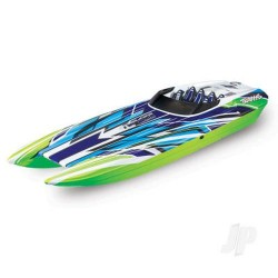 Traxxas DCB M41 Widebody:  Brushless 40' Race Boat (TRX57046-4-GRNX)