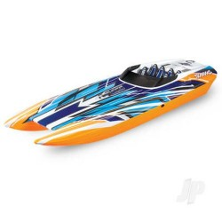 Traxxas DCB M41 Widebody Brushless 40in RTR Race Boat New Orange (TRX57046-4-ORNGX)