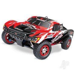 Traxxas RED Slayer Pro 4X4 1/10 Scale Nitro-Powered 4WD Short Course Racing Truck (TRX59076-3-RED)