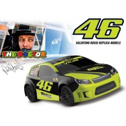 Traxxas LaTrax Rally 1/18 Scale 4WD Electric Rally Racer with Officially Licensed Valentino Rossi Body (TRX75064-5)