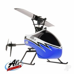 Twister Ninja 250 Helicopter with Co-Pilot Assist 6-Axis Stabilisation and Altitude Hold (Blue) (TWST1001B)
