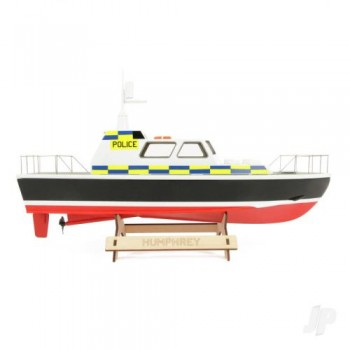 The Wooden Model Boat Company Police Launch Kit 400mm (WBC1002)