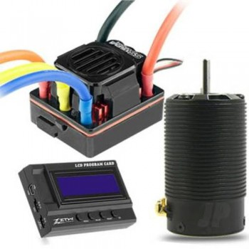 ZTW 1:8 Beast SS120A ESC + 4P SL3674 2150Kv Motor + LCD Program Card (ZTW421203035)