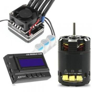 ZTW 1:10 Beast PRO Combo with 120A ESC + BP 3652 17.5T 2300Kv Motor + LCD Program Card (ZTW8212021171)