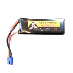 KONG POWER 2200mAh 3S 11.1V 35C EC3 (KC-2235-3)