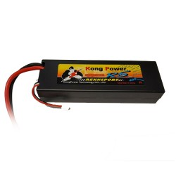 Kong Power 6000mAh 2S 60C Hard Case with Deans (KC-6060-2)