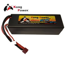 Kong Power 6000mAh 3S 60C Hard Case with Deans (KC-6060-3)