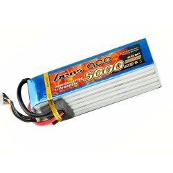 Gens ace Battery LiPo 6S 22.2V-5000-45C (EC5) 162x45.5x42.5mm 780g (GE1-5000-6C5)