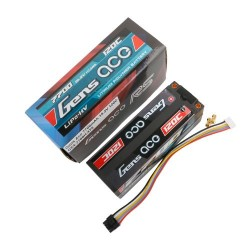 Gens ace LiPo 4S HV Pack 15.2V-7700-120C (5mm) 139.5x47.5x50mm 605g (GE4-7700H-4T5)