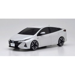 KYOSHO Mini-Z FWD TOYOTA PRIUS PHV WHITE PEARL CRYSTAL SHINE (MA-03F/KT531P) (K.32423WP)