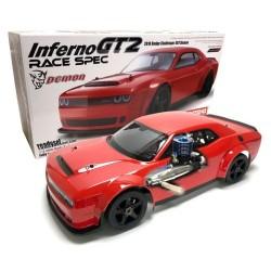 KYOSHO INFERNO GT2 RACE DODGE CHALLENGER SRT DEMON  (K.33008RXL)