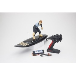 KYOSHO RC SURFER 4 READYSET ELECTRIC (KT231P+) BLACK (K.40110T2B)