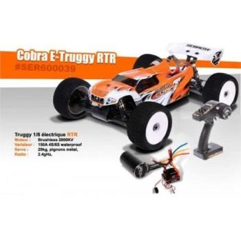 Serpent COBRA E-TRUGGY 1/8 RTR DTS3 (SER600039)