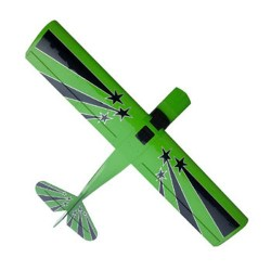 Pilot-RC 28% Decathlon 107in (2.7m) (Green/Black/White) (PIL006)