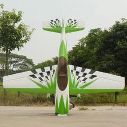Pilot-RC 29% Sbach-342 87in (2.2m) (Green/White/Black) (PIL280)