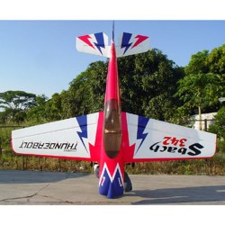 Pilot-RC 29% Sbach-342 87in (2.2m) (Pink/Blue/White/Black) (PIL281)