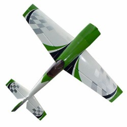 Pilot-RC 20% Extra-330SC 60in (1.52m) (Green/White Checker) (PIL495)