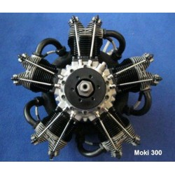 Moki S 300 Radial Engine (MOKIS300)