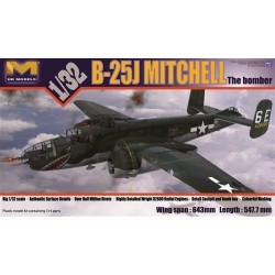 HK MODELS B-25J Mitchell Glass Nose 1:32 (PKHK01E01)