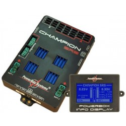Powerbox Systems Champion SRS incl. LCD screen switch and USB interface lead (4520)