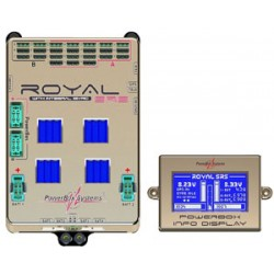 Powerbox Systems Royal SRS incl.GPS LCD screen switch and USB interface lead (4710)