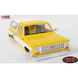 Z-B0152 RC4WD Chevrolet Blazer Hard Body Complete Set (Yellow) (Z-B0152)