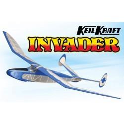 Keil Kraft Invader Kit - 24.5in Free-Flight Towline Glider (A-KK1020)